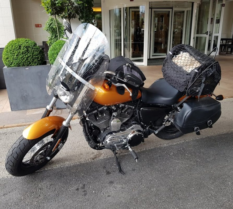 Mit der Harley von Ingolstadt nach Trogir